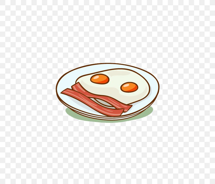 Bacon Breakfast Fried Egg Fast Food Omelette, PNG, 700x700px.