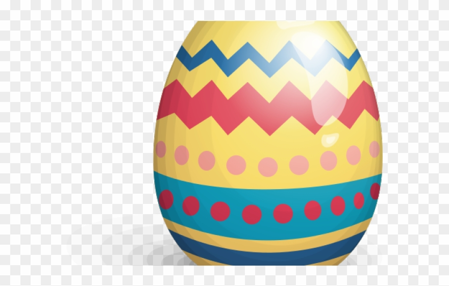 Easter Eggs Clipart Real.
