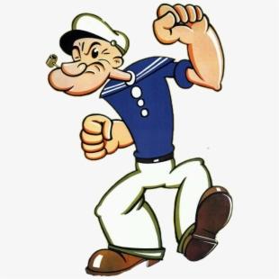 Popeye The Sailor Man 1950s , Transparent Cartoon, Free.