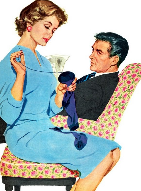 In 1950\'s Women Were Expected To Do THIS For Their Husbands.