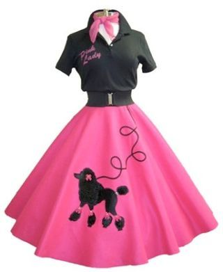 Poodle skirts—the origin and influence in 2019.