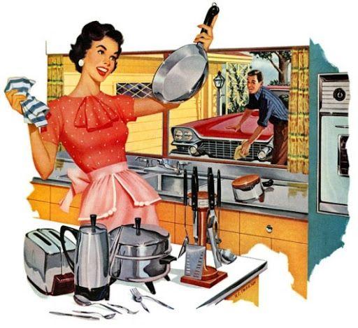 1950s+Women+in+the+Kitchen.