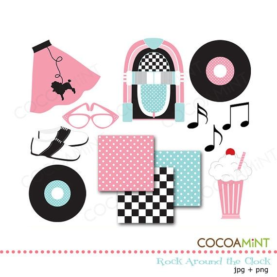 Sock Hop Clip Art Party Ideas Pinterest Sock Hop Clip Art.
