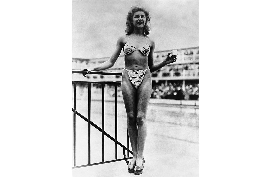How the Summer of Atomic Bomb Testing Turned the Bikini Into.