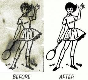 50s Style Clip Art.