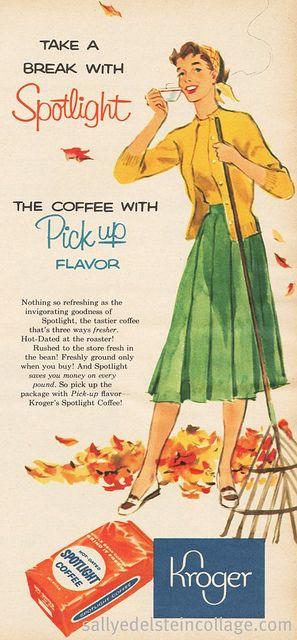 Kroger Coffee Break 1956.