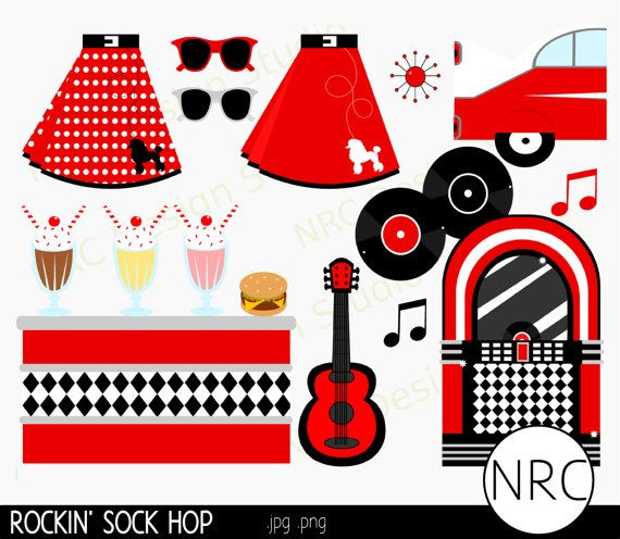 Free download Clip Art Milkshakes 1950s Clipart for your.