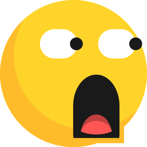 glared, shocked, surprised emoji png transparent c.