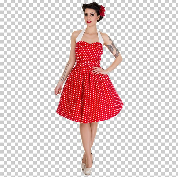 1950s Dress Rockabilly Petticoat Vintage Clothing PNG.
