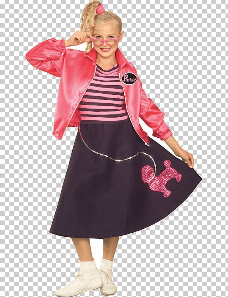 Poodle Skirt 1950s Clothing Costume PNG, Clipart, 50 S, 1950s, Child.