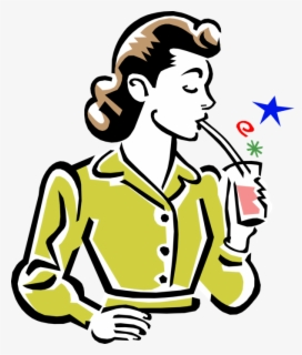 Free 1950s Clip Art with No Background.