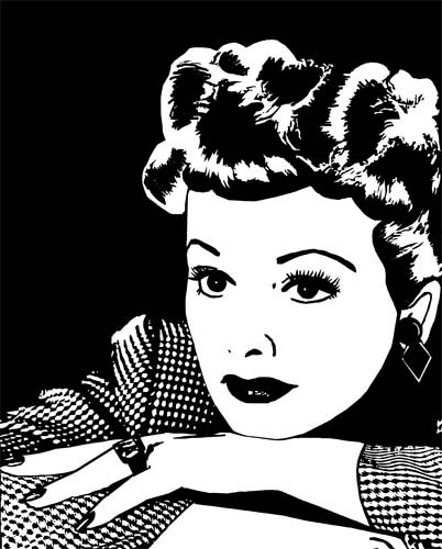 1950s woman clipart png clip art Digital by.