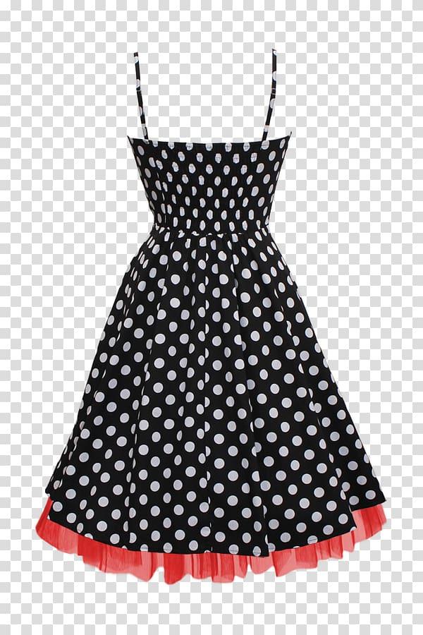 Dress Fashion Vintage clothing Polka dot, front wigs.