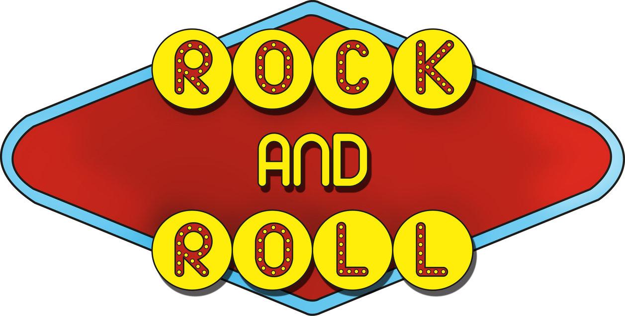 Rock N Roll 50s Clipart.