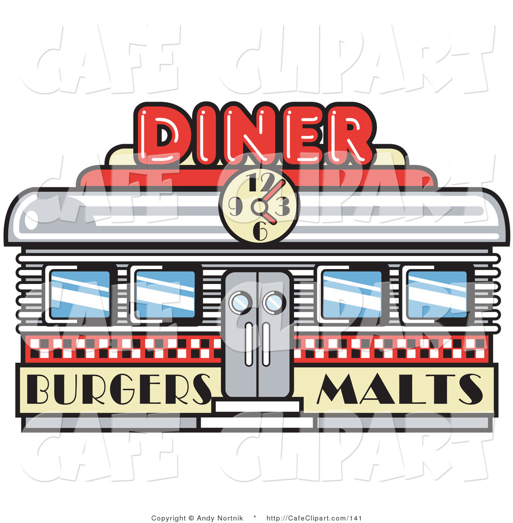 Diner Clipart.