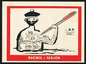 Details about INDELIBLE INKS AD TATTOO SAILOR ART ADVERT Original 1950s  Vintage Print Ad*Retro.