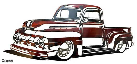 1951 Ford Truck.