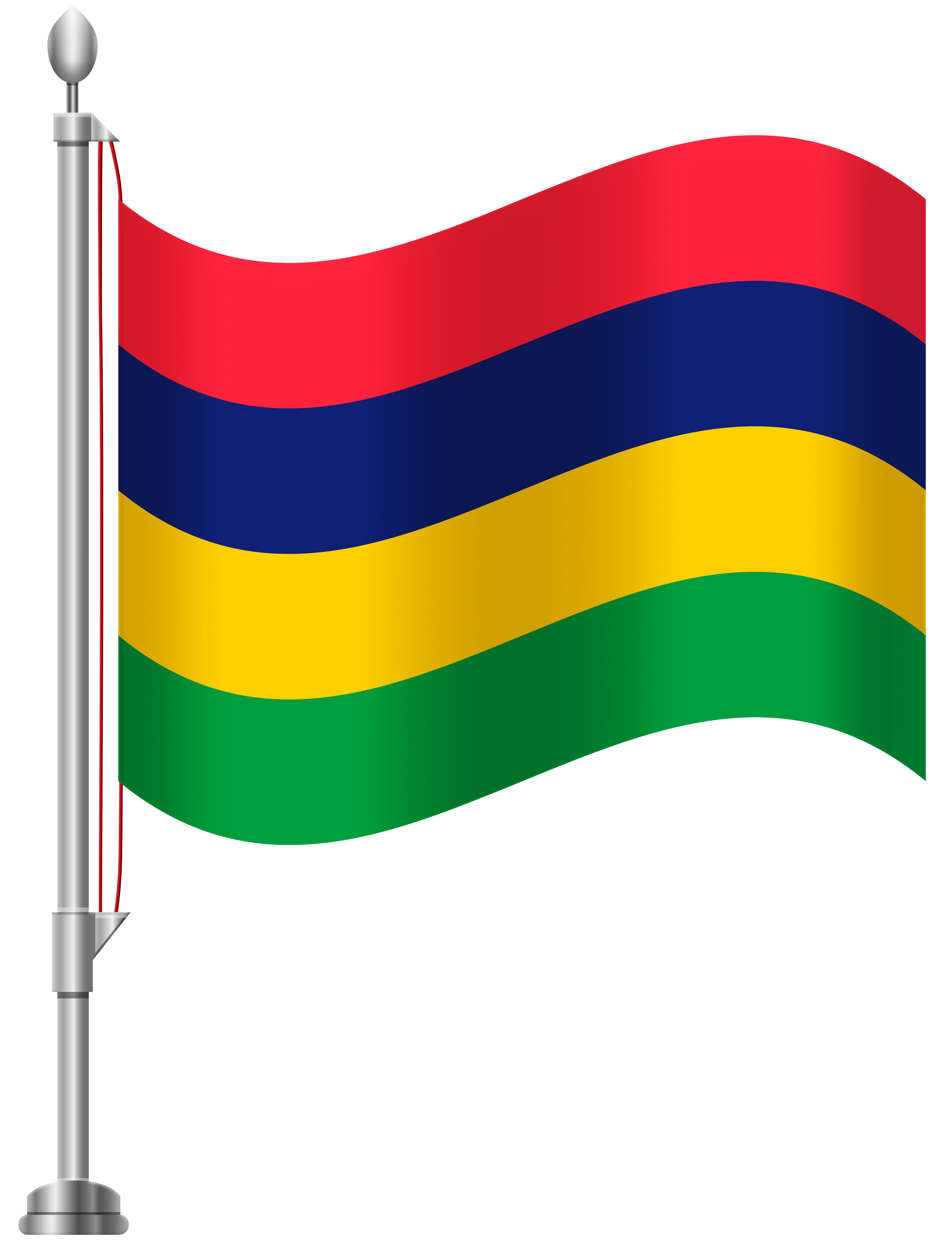 Mauritius Flag PNG Clip Art.