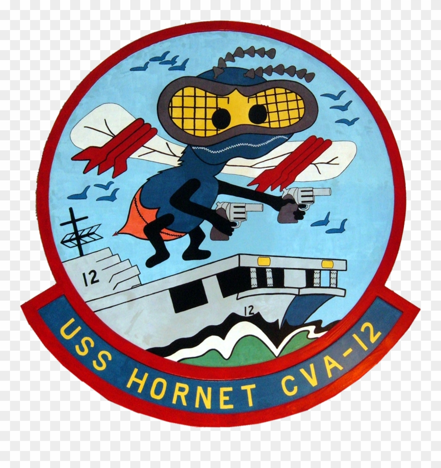 Uss Hornet Insignia, 1953.