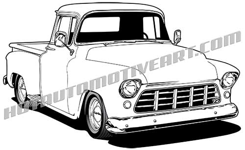 1955 chevy clipart PNG and cliparts for Free Download.
