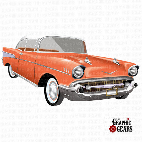 50 S Car Back Clipart.