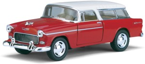 Kinsmart 5\'\' 1955 Chevy Nomad Car Toy for Kids from Smiles Creation  (Multicolor)Multicolor.