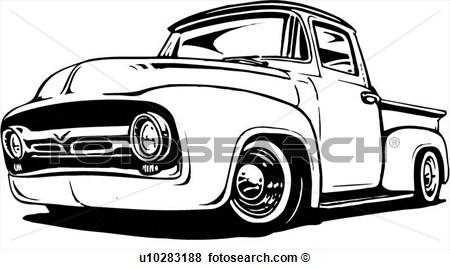 Vintage Ford Logo Clipart.