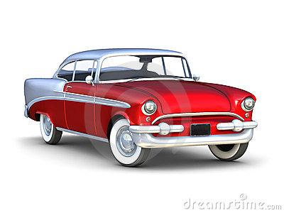 Old Chevrolet Car Stock Illustrations.