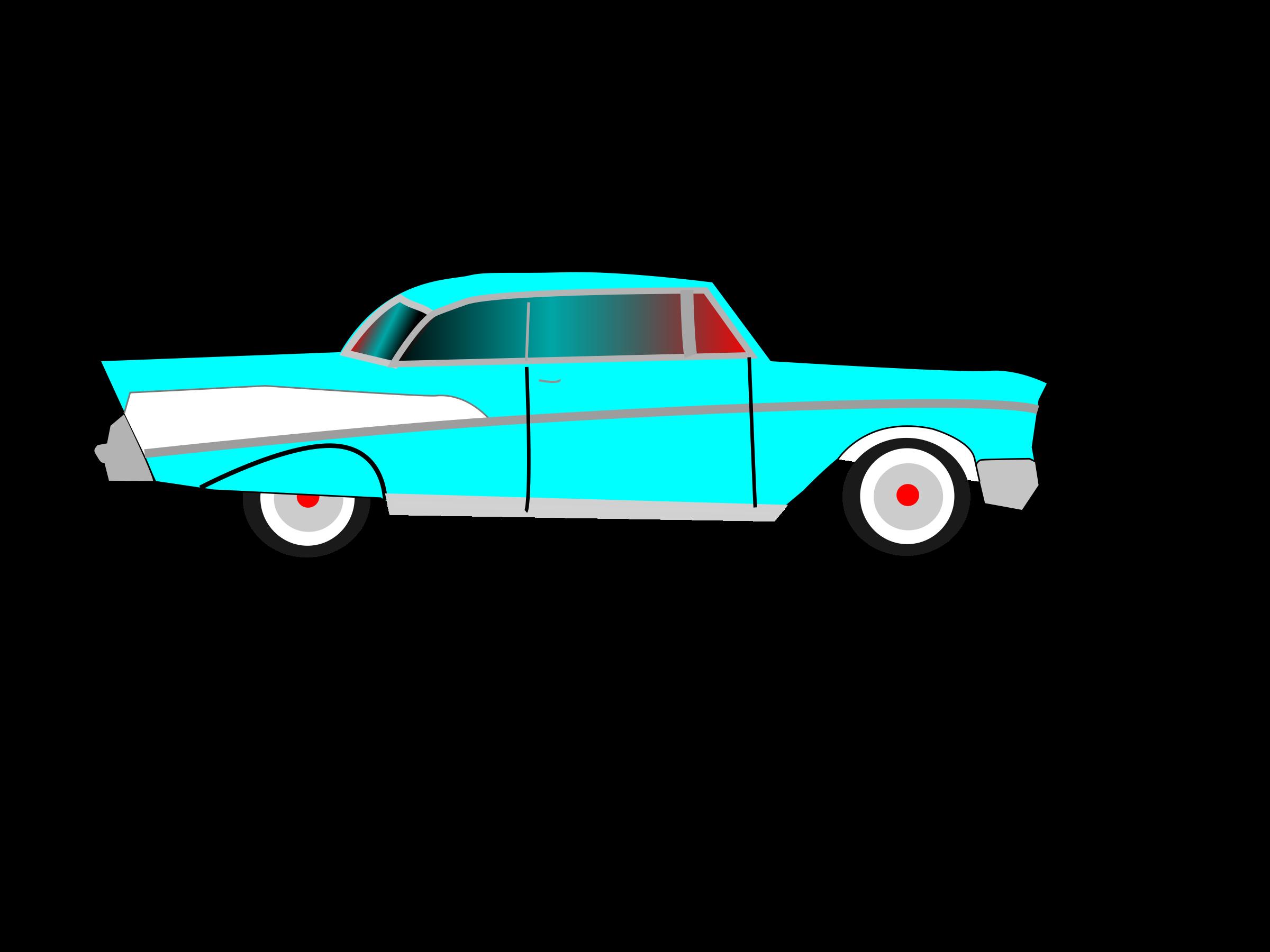 Car Chevrolet Bel Air 1955 Chevrolet Clip art.