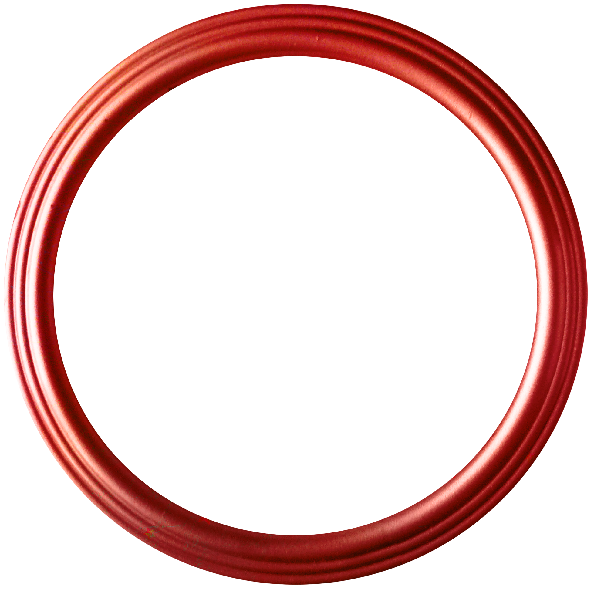 Circle Red Disk Shape.