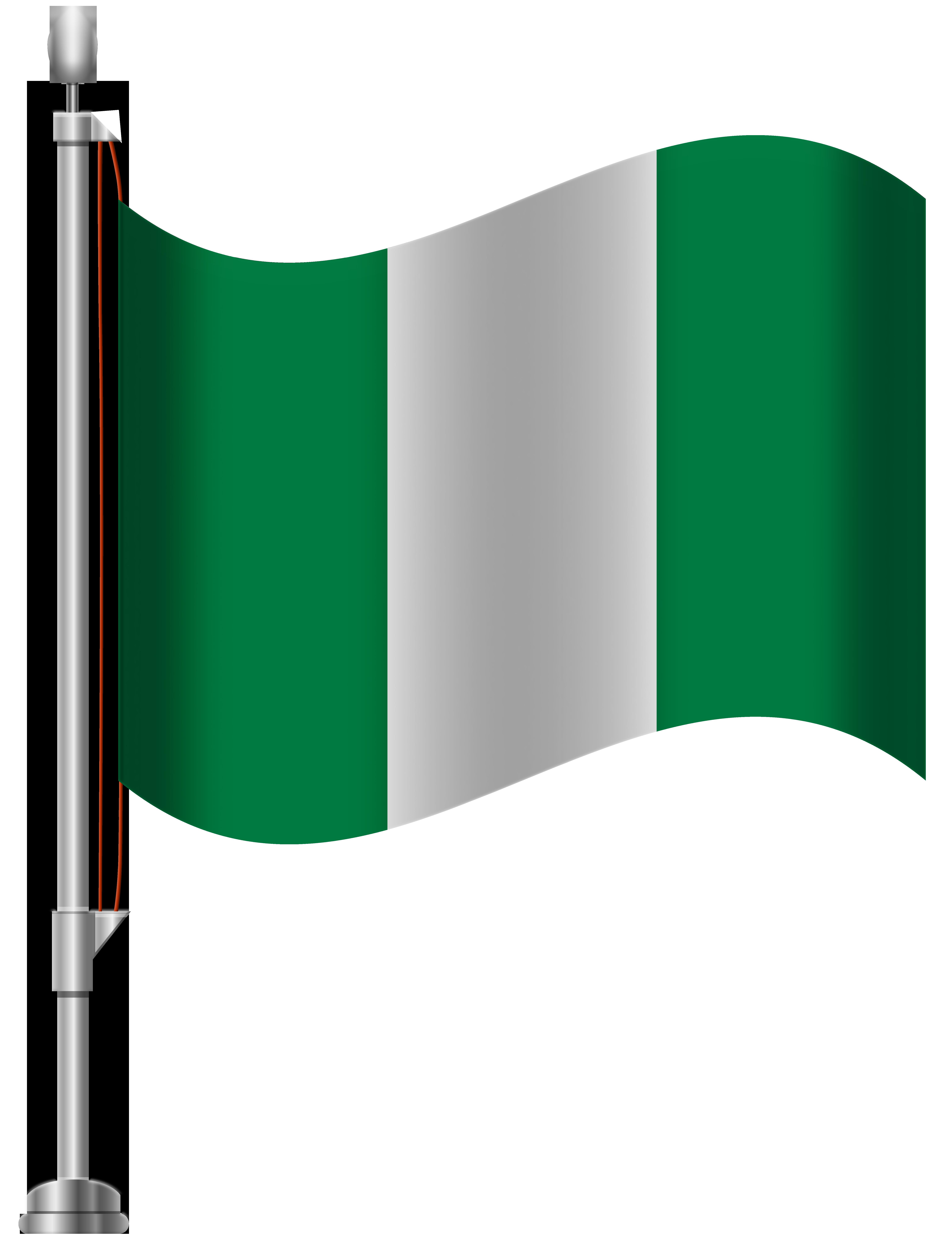 Nigeria Flag PNG Clip Art.