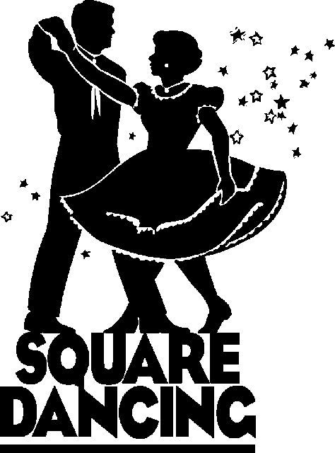 Square Dance Cartoon Clip Art.