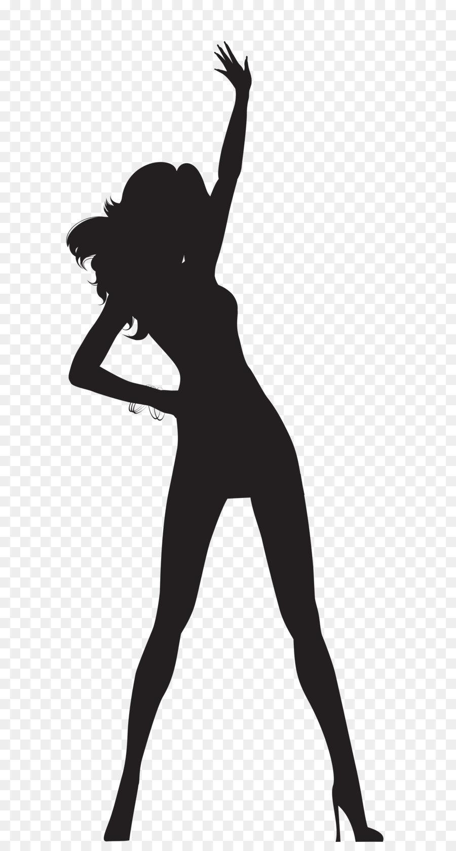 Woman Silhouette Clip art.