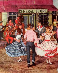 55 Top Square Dance images.