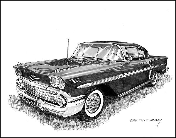 1958 Chevrolet Impala 1958 in 2019.