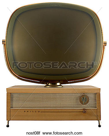 Stock Photography of Maker: Philco Corp. Model: Predicta Year.