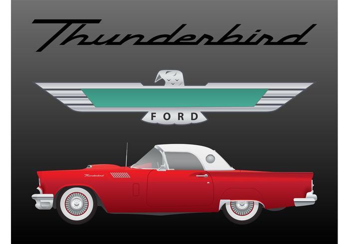 Vintage Thunderbird.