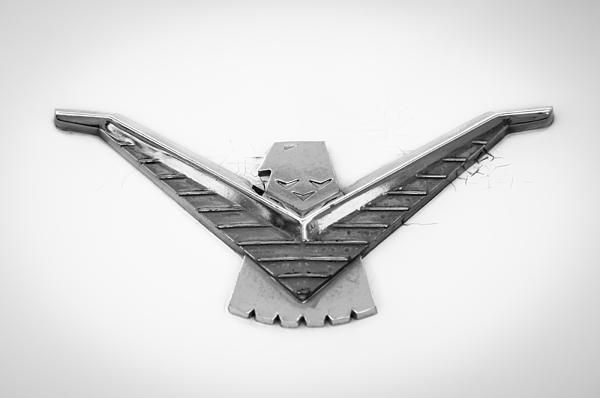 1958 Ford Thunderbird Emblem, Ford Photographs, Ford Images.