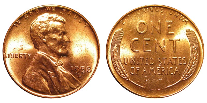 1958 Nickel Penny Related Keywords & Suggestions.