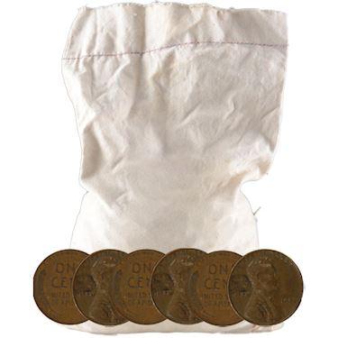 Wheat Pennies 5,000 Count Roll (Common Dates) l JM Bullion™.