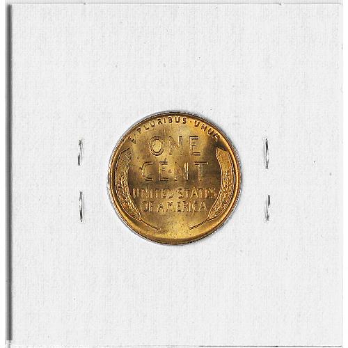 1951 Lincoln Head Wheat Cent Copper Penny.