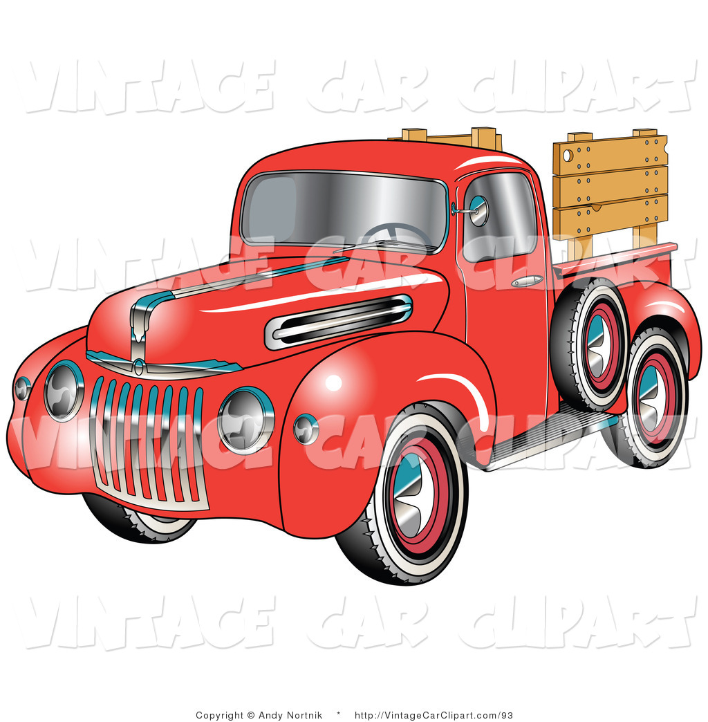 1959 ford pickup truck clipart.