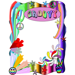 Groovey Border clipart, cliparts of Groovey Border free.