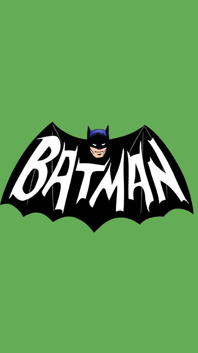 60\'s Batman logo.