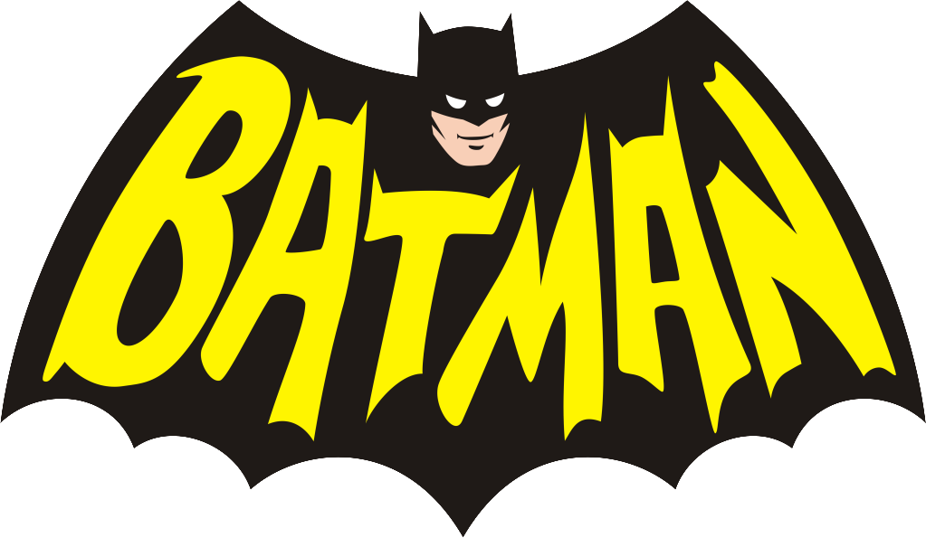 1960 Batman Logo Clipart.