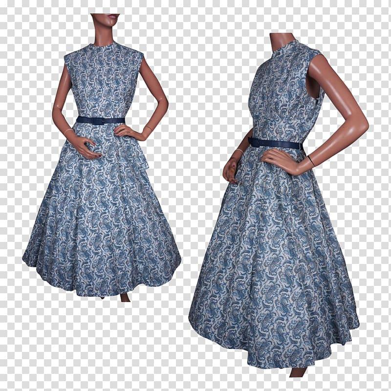 1950s 1960s Dress Crinoline Fashion, wear new clothes.