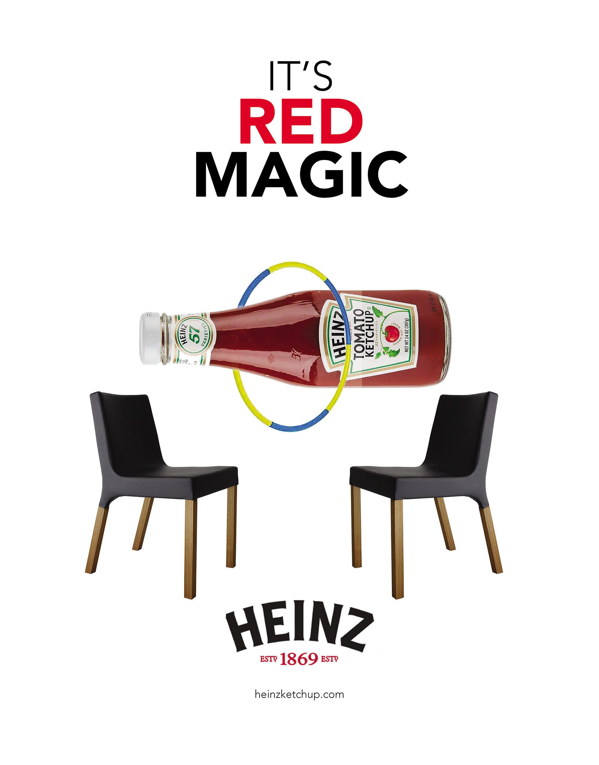 Rhetorical Analysis of the Heinz Red Magic Ad.