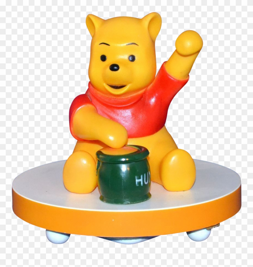 1960/70s Disney ~ Musical Winnie The Pooh Lamp.