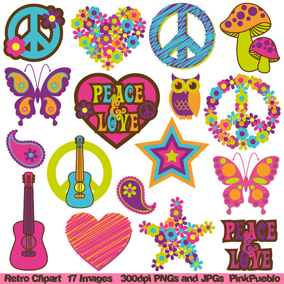 Free vector royalty free 60s png files, Free CLip Art.
