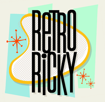 Letterhead Fonts / Retro Ricky / 50s and 60s Fonts.